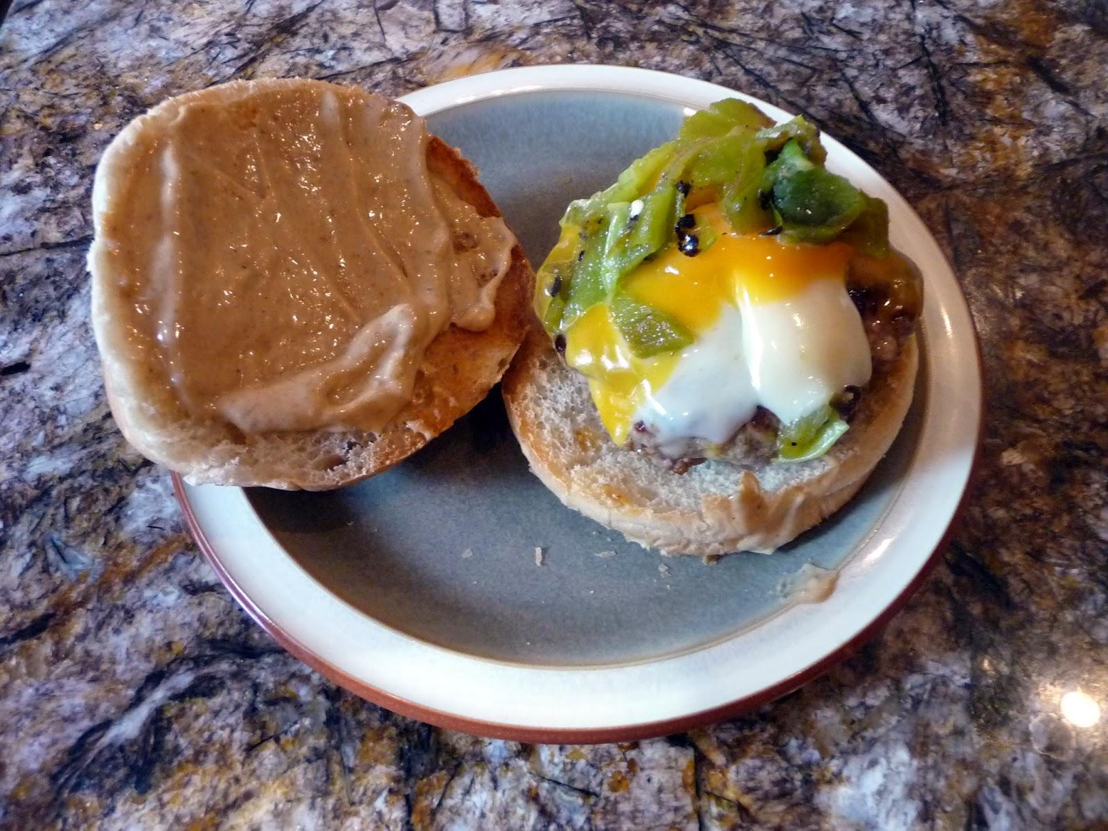 Chef Bolek: Green Chile Turkey Burgers