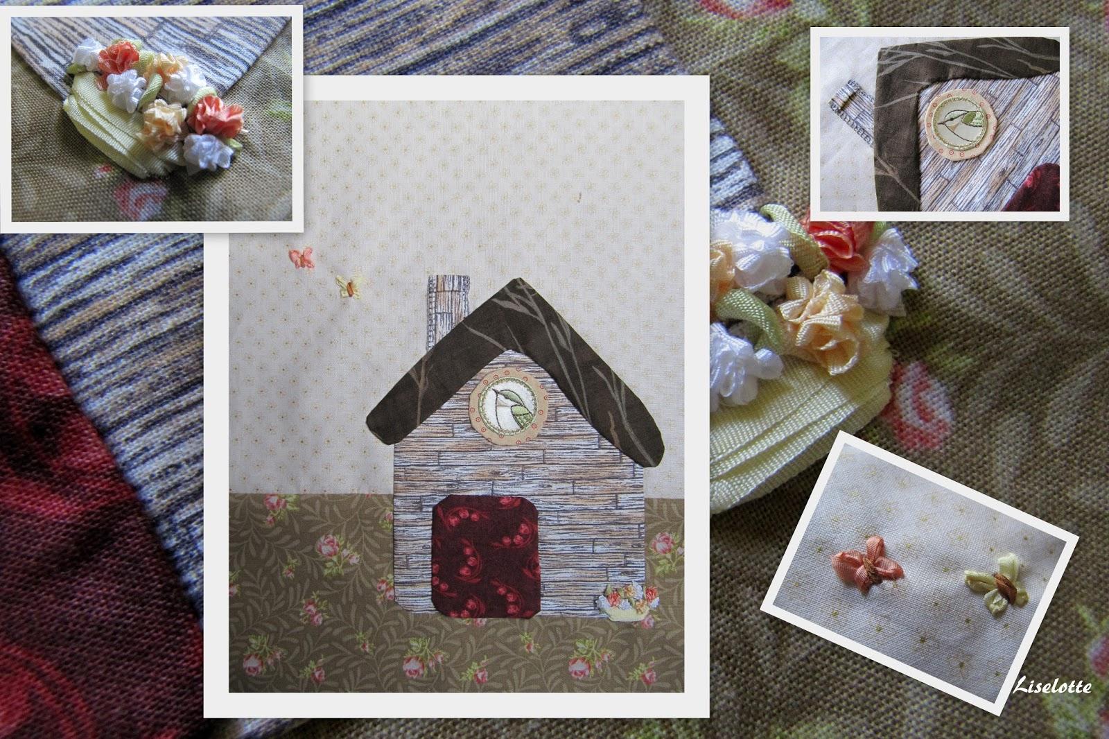Les arts vie quilt myst re chez les dingottes - Le petit jardin quilt pattern calais ...
