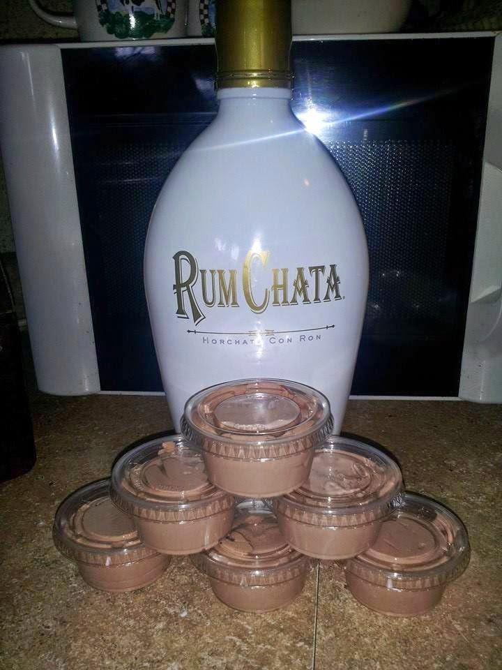 Upload Pix: RumChata Pudding Shots