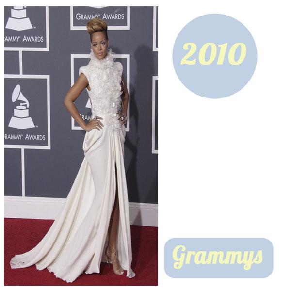 Rihanna grammys 2010