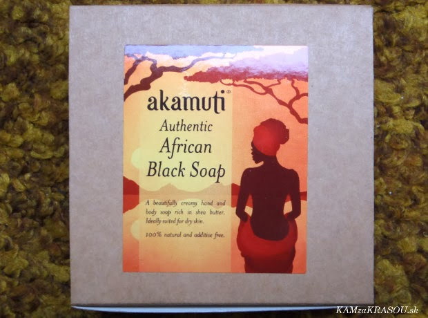 Amakuti Africké čierne mydlo