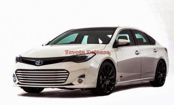 2016 Toyota Avalon Changes