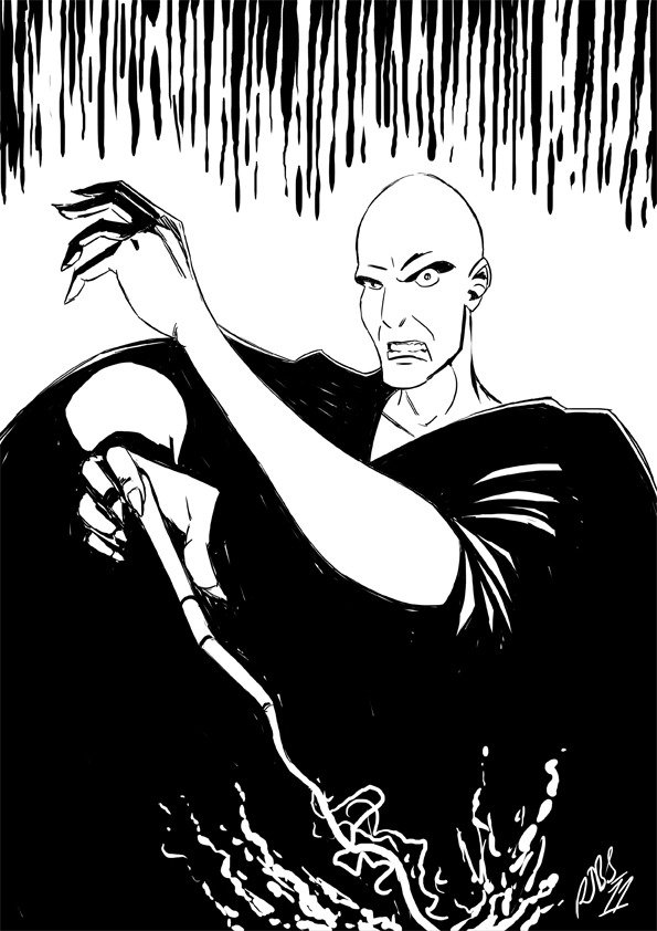 voldemort coloring pages - photo#28