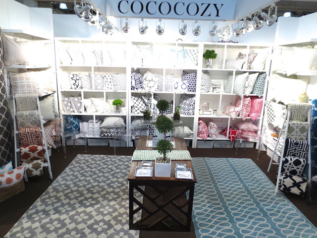 NYIGF 2013 COCOCOZY Booth with wool rugs