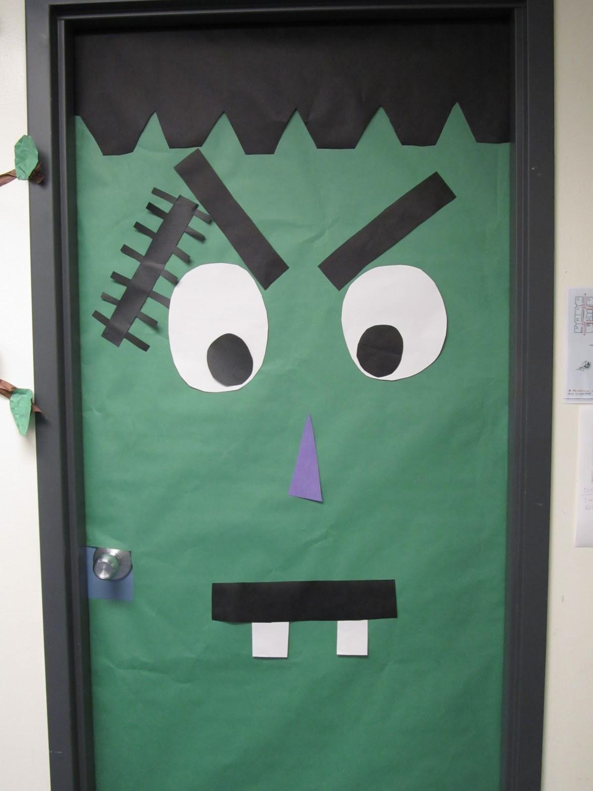 Halloween Decorations Classroom Door : First grade crusade gearing up for halloween