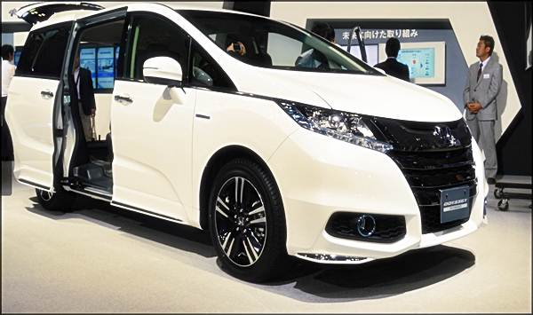 2016 Honda Odyssey Hybrid Concept