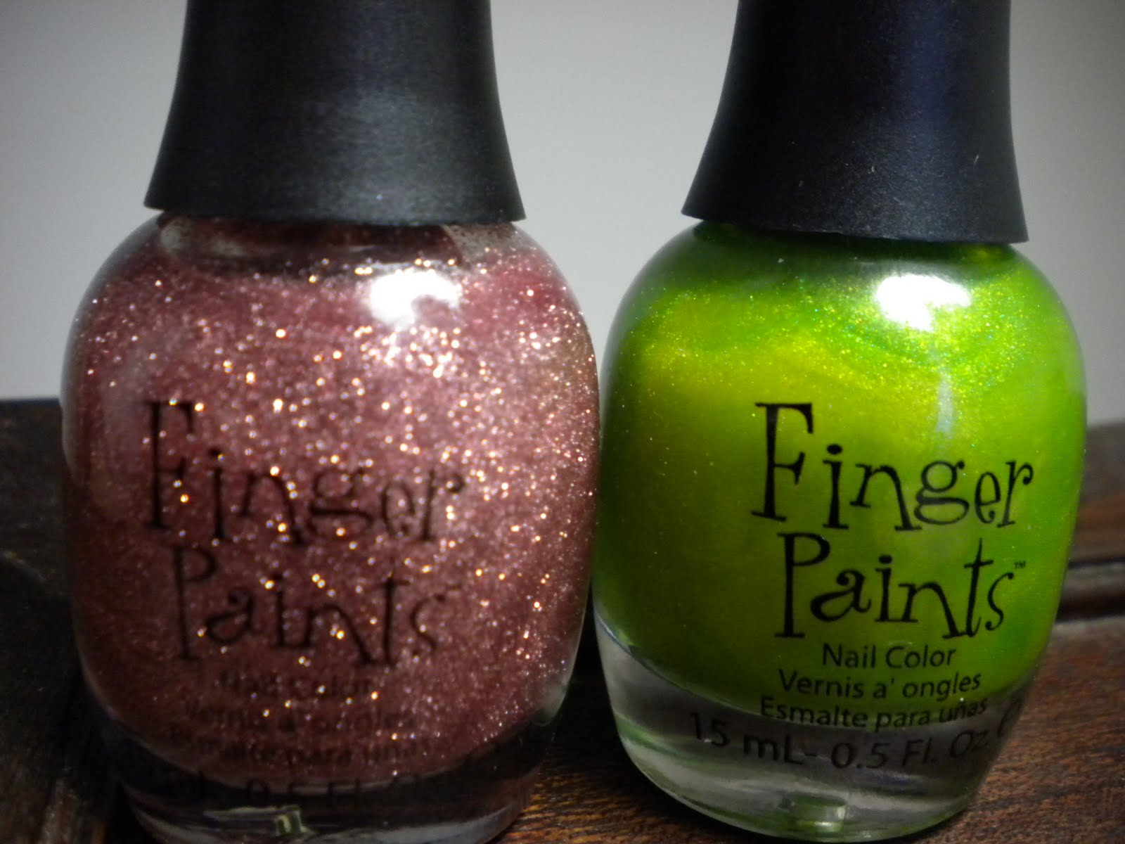 Diary of a Reformed Tomboy: Finger Paints Nail Polish - REVIEW