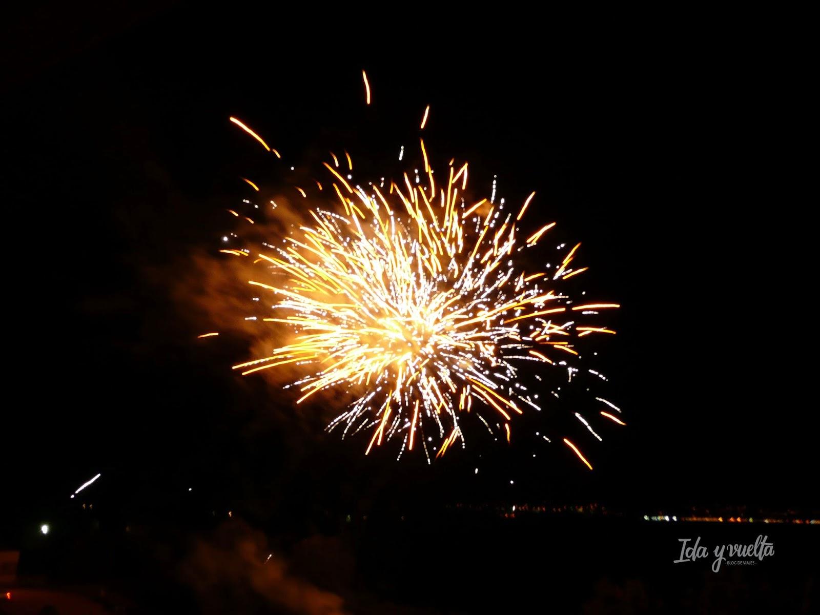 Fuegos Aniversario