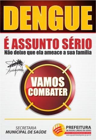 DENGUE É ASSUNTO SÉRIO