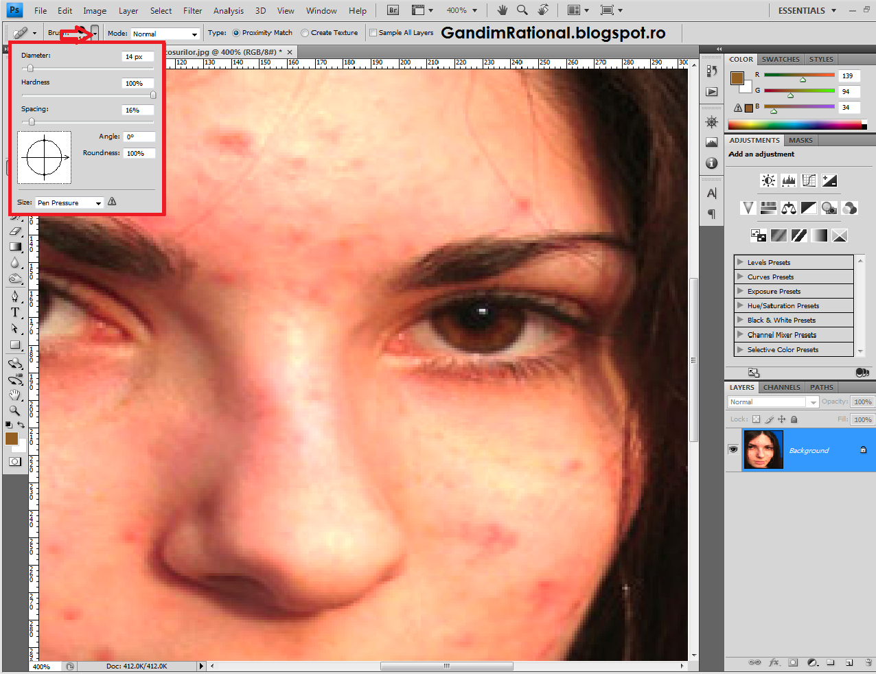 Tutorial Photoshop CS4 Inlaturarea Cosurilor