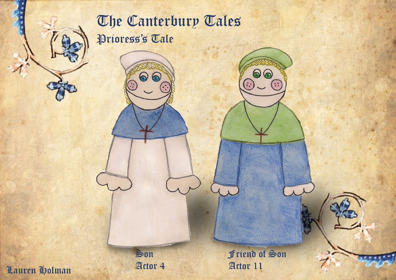 priorless tale The canterbury tales characters from litcharts | the creators of sparknotes sign in sign up lit  the prioress attempts to be dainty and well-bred, and chaucer.