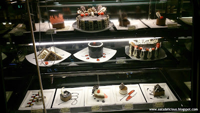 Maitre Chocolatier Ayala Center Cebu branch cakes