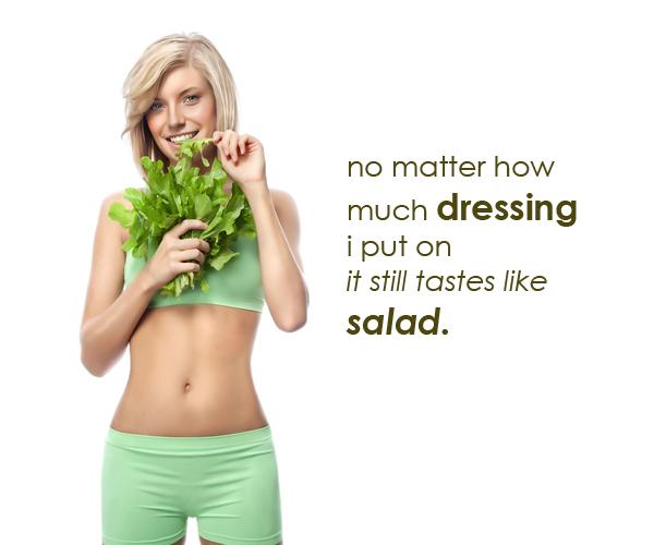Salad Dressing Salesforce Chatter