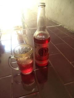 Sirup Kurnia, minuman sirup merah menyegarkan, sirup tanpa gula tambaha