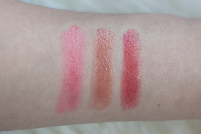 soap & glory sexy mother pucker gloss crayon swatches