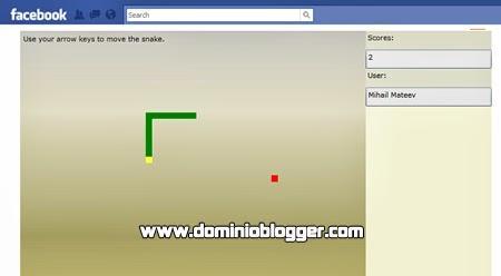 Juega Snake en Facebook