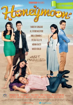 film lucu indonesia, trailer, sinopsis, dan link download, honeymoon