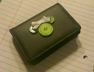 Button Mickey Wallet