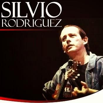 El trovador cubano Silvio Rodriguez