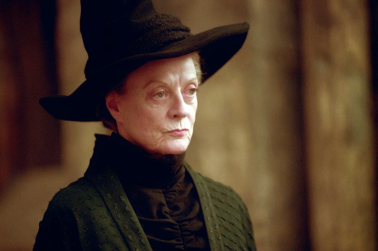 Image of Professor McGonagall looking very disapproving