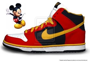 Version Sb Nike Top Shoes Cartoon Mouse Dunk 6 Mickey 6HqUq1Bw