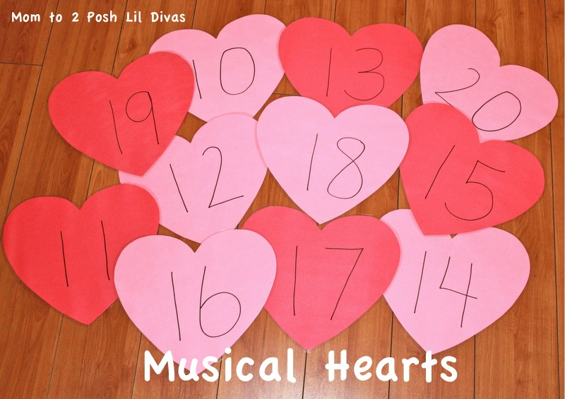 Mom to 2 Posh Lil Divas: Valentine\'s Day Fun: Heart Math for ...
