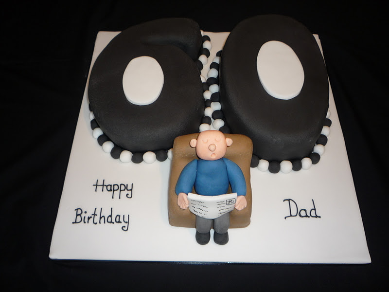 Cake Ideas For 60th Male Birthday : Elaine Allan: Man s 60th Birthday Cake