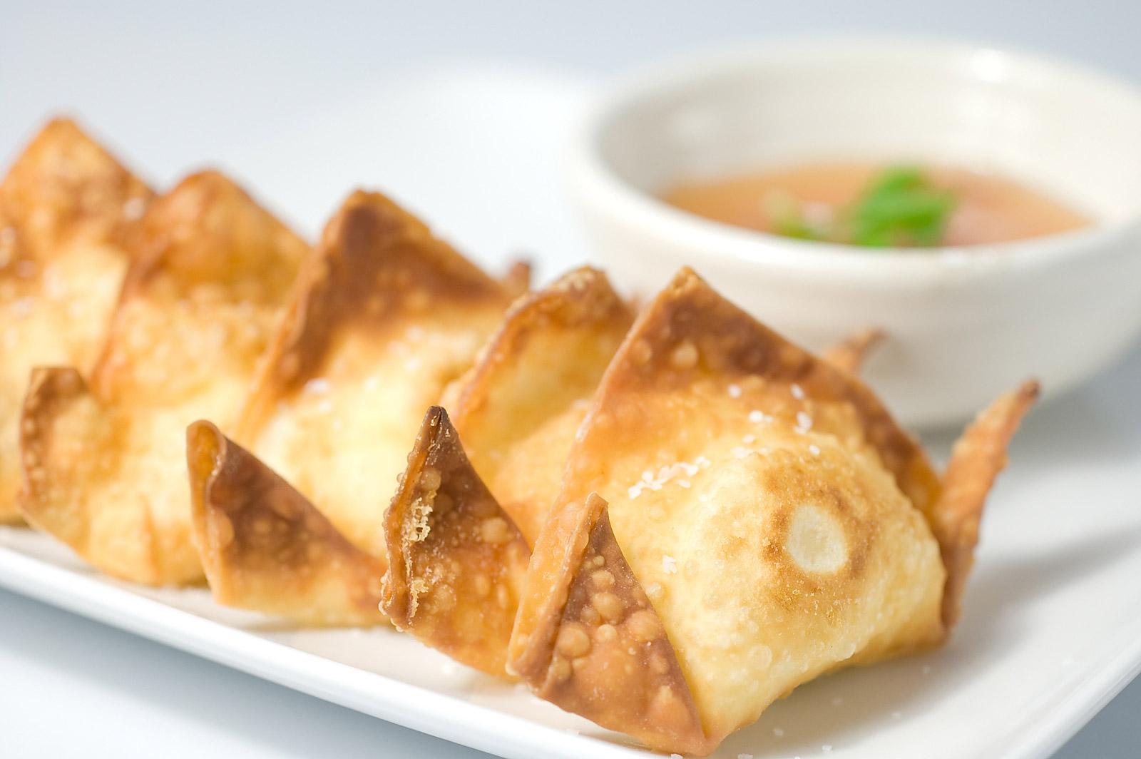 Recipe Ladies HR: pei wei's crab wontons {winner!}
