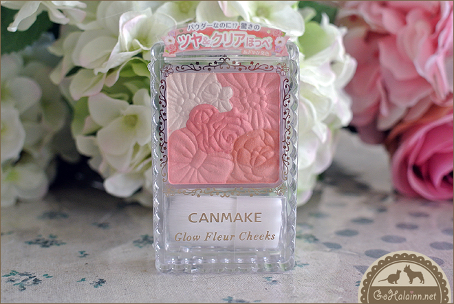 Canmake Glow Fleur Cheeks #3 Fairy Orange Fleur Review