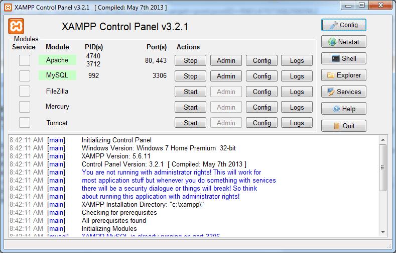 Cara Menginstall Yii Framework Menggunakan XAMPP
