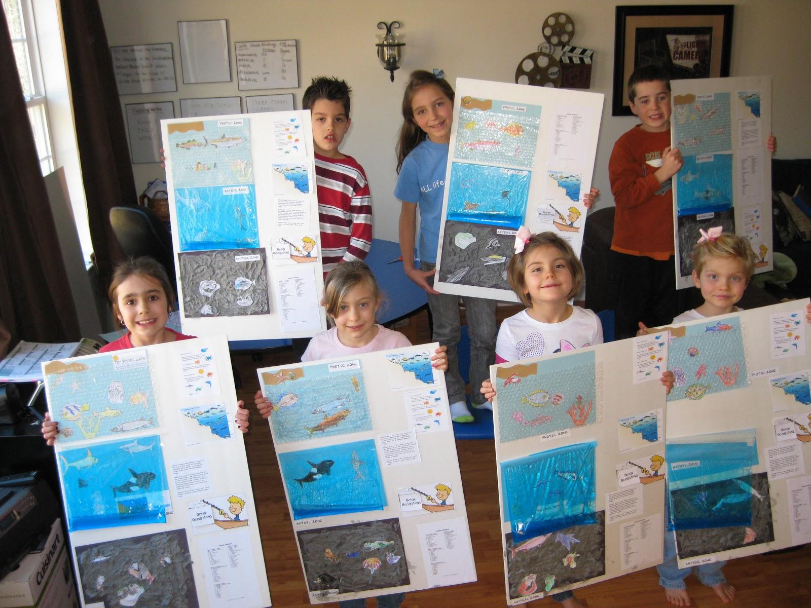 Solagratiamom week 19 ocean zones project week 19 ocean zones project sciox Images