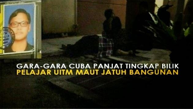 Ngeri 7 Foto Kisah Sebanar di Sebalik Tragedi Pelajar UiTM Maut Jatuh Bangunan Tingkat 4 Asrama