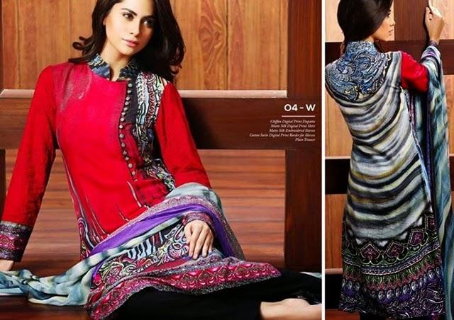 Resham ghar Matte Silk Dresses'14/15
