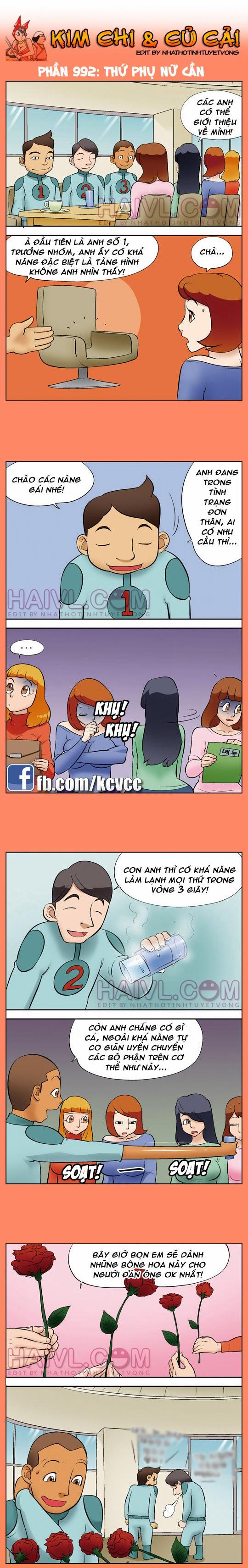 Kim chi và củ cải phần 992