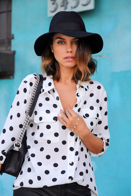 Polka dot Summer shirt