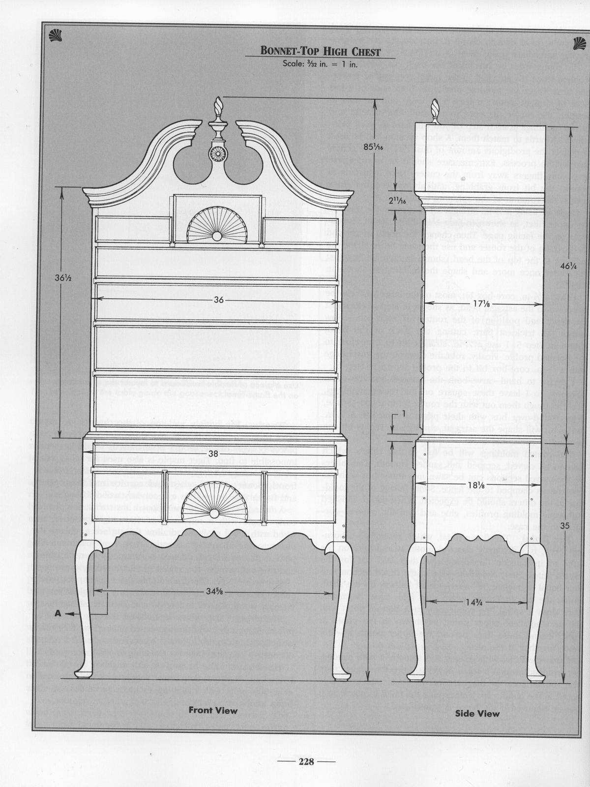 Furniture Construction Drawing Design And Construction