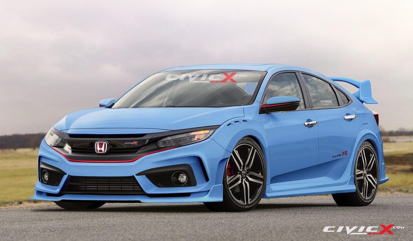 CivicX 2017 Civic TypeR Blue