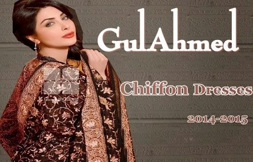 GulAhmed Chiffon 2014