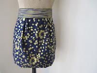 Dear Stella Gilt Trip tulip skirt mock-up
