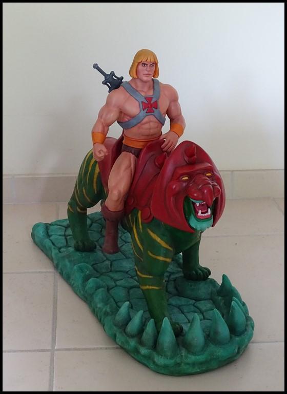 A vendre : He-man battlecat filmation 1/4