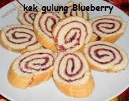 KEK GULUNG BLUEBERRY