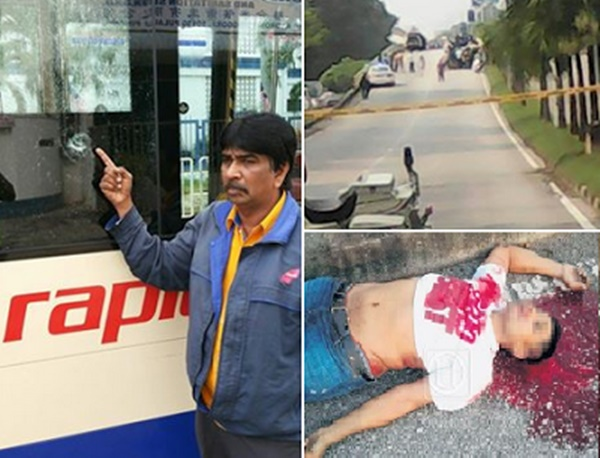 TRAGIS! Bapa Tunggal Maut Dibunuh Kejam Ketika Menunggang Motosikal