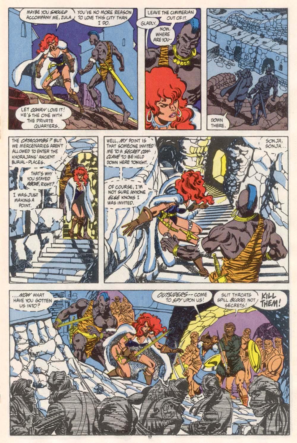 Conan the Barbarian (1970) Issue #246 #258 - English 14
