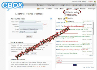 Cara memberi captcha pada Cbox