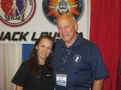 astronaut Jack Lousma
