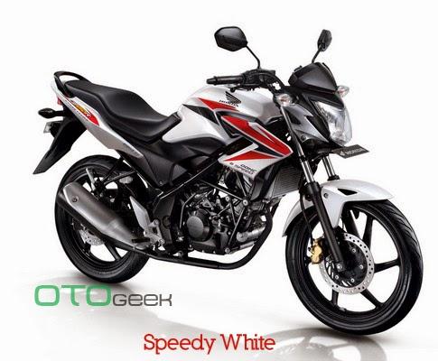 Honda CB150R Streetfire Speedy White