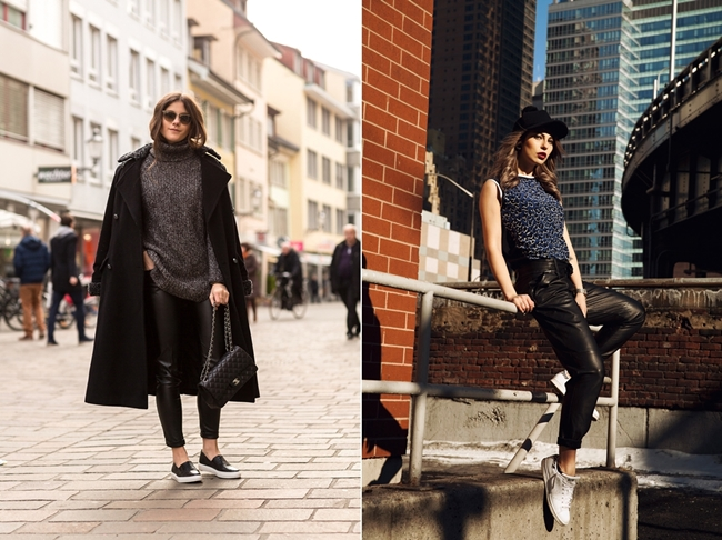 The Fashionfraction, Masha Sedgwick, favorite Blogger Outfits, black Look, black Streetstyle