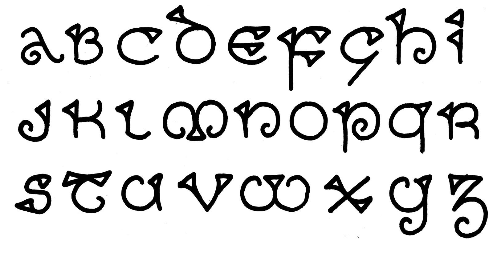Margaret Shepherd: Calligraphy Blog: 222 Celtic line