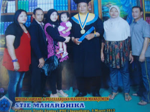 Wisuda S2 Mas Eko