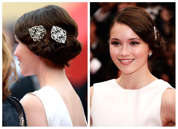 accesorios de moda fiestas 2013 peinados